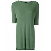 Osklen Blusa De Tricô Canelada - Verde