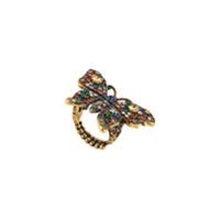 0ffda4cf64f Gucci Anel  butterfly  Com Cristais - Dourado ...