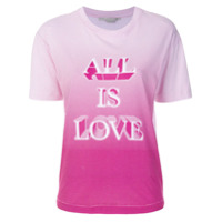 Stella Mccartney Camiseta Com Estampa 'all Is Love' - Branco