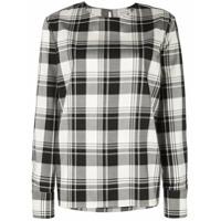 Dresshirt Blusa Xadrez - Preto