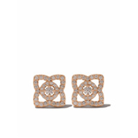 De Beers Par De Brincos 'enchanted Lotus' De Ouro Rosê 18K Com Diamantes - Rose Gold