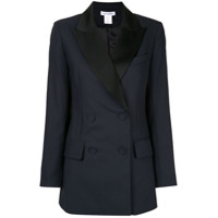 Bianca Spender Double Breasted Blazer - Preto