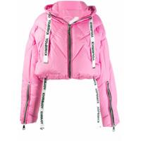 Khrisjoy Hooded Puffer Jacket - Rosa