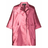 Gianluca Capannolo Oversized Shirt Dress - Rosa