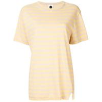 Bassike Camiseta Heritage - Amarelo