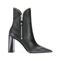 Alexander Wang Zip Detail Ankle Boots - Preto