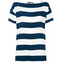 Dolce & Gabbana Camiseta Listrada - Azul