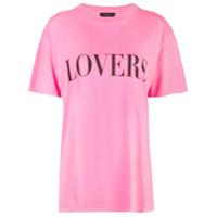 Amiri Camiseta Lovers - Rosa