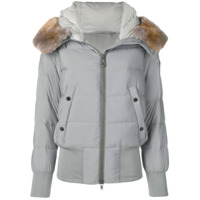 Peuterey Padded Hooded Jacket - Cinza