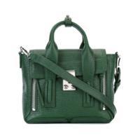 3.1 Phillip Lim Bolsa Satchel De Couro Modelo 'pashli' Mini - Verde
