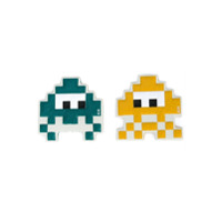 Anya Hindmarch Chaveiros 'space Invaders' - Amarelo
