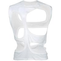 Rick Owens Camiseta Estampada - Branco