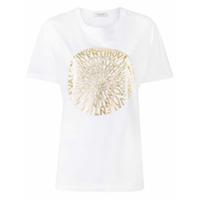 Valentino Multi Logo T-Shirt - Branco