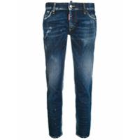Dsquared2 Calça Jeans Cropped 'twiggy' - Azul