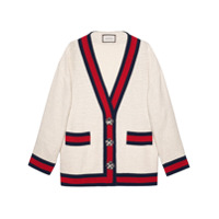 Gucci Cardigan Oversized - Neutro