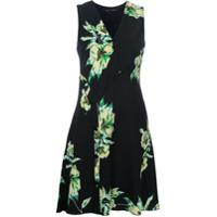 Proenza Schouler Vestido Com Estampa Floral - Preto