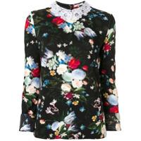 Erdem Blusa Floral - Estampado
