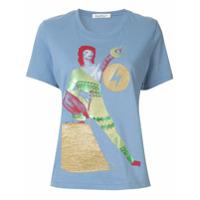 Undercover Camiseta Com Estampa Bowie - Azul