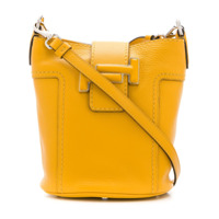 Tod's Bolsa Saco Double T - Amarelo