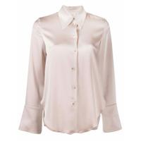 Nanushka Camisa Mangas Longas 'mandine' - Rosa