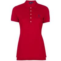 Polo Ralph Lauren Camisa Polo Com Logo Bordado - Vermelho