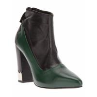 Toga Ankle Boot Verde E Preta - Green