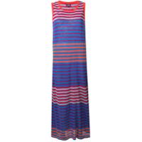 Woolrich Vestido Listrado - Azul