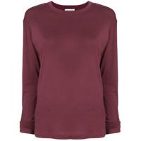 Roqa Camiseta Mangas Longas - Vermelho