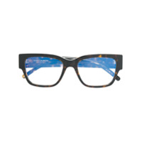 Saint Laurent Eyewear Armação De Óculos 'slm20 002' - Marrom