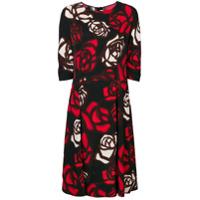 Marni Vestido Floral - Vermelho