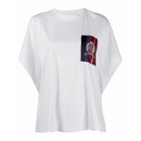 Hilfiger Collection Camiseta Com Patch De Logo - Branco