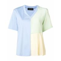 Sport Max Code Colour-Block T-Shirt - Azul