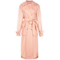 Rejina Pyo Trench Coat Com Cinto - Rosa