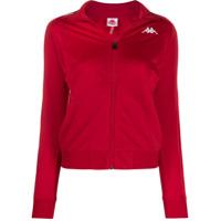 Kappa Logo Strap Jacket - Vermelho