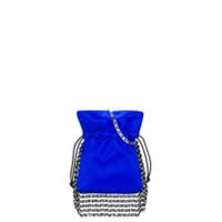 Les Petits Joueurs Nano Trilly Fringe Crossbody Bag - Azul