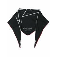 Givenchy Echarpe Com Estampa - Preto