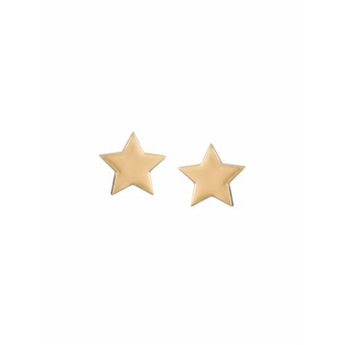 Imagem de Alinka Par de brincos 'Stasia Star' de ouro 18k - Metálico