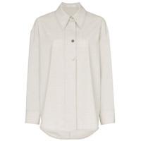 Low Classic Camisa De Lã - Cinza