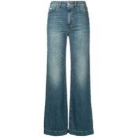 Alexa Chung Calça Jeans Flare - Azul