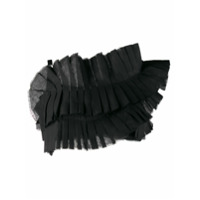 Loulou Pleated Crop Top - Preto