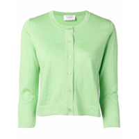 Snobby Sheep Cropped Sleeve Cardigan - Green