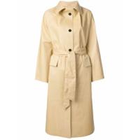 Kassl Trench Coat Com Cinto - Neutro