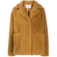 Stand Oversized Teddy Bear Jacket - Neutro