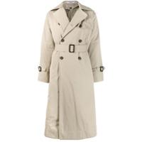 Katharine Hamnett London Trench Coat Com Abotoamento Duplo - Neutro