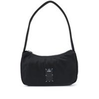 Mcq Bolsa Tote Pequena Com Patch De Logo - 1000 - Black