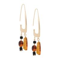 Bar Jewellery Par De Brincos Rise - Dourado