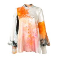 Roksanda Blusa Orange Explosion Com Estampa - Rosa