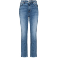 Paige Calça Jeans Cropped Cindy - Azul