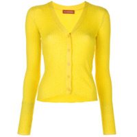 Altuzarra Cardigan Harwell De Tricô - Amarelo