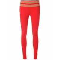 Vaara Legging Flo Tuxedo - Vermelho